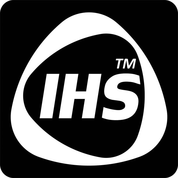 "IHS Logo: ""Intelligent Heat System"""